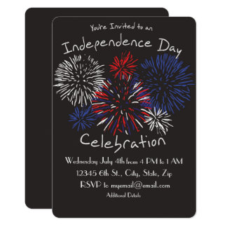 Independence Day Celebration Invitation