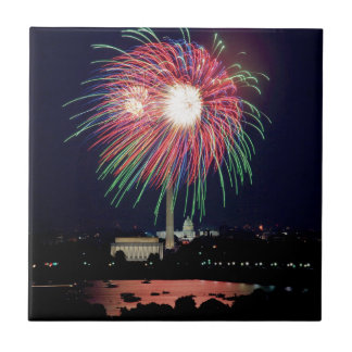 Independence-Day Ceramic Tile