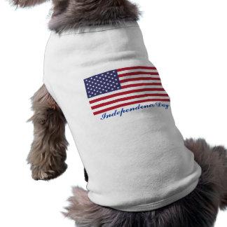 Independence Day Dog Shirt