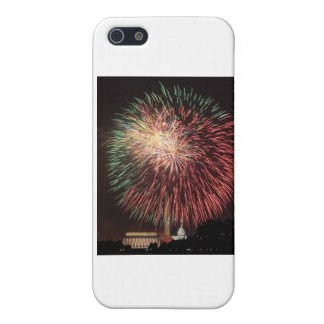Independence Day Fireworks over Washington DC iPhone 5 Cover
