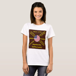 Independence day flag July 4th T-Shirt