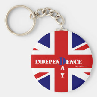 Independence Day for United Kingdom Key Ring