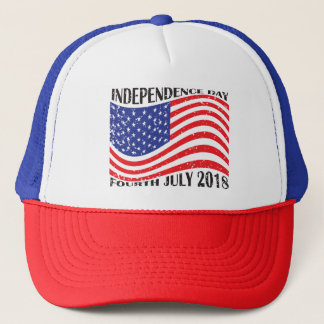 Independence Day & Fourth July 2018 Trucker Hat