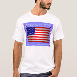 Independence Day (front) T-Shirt