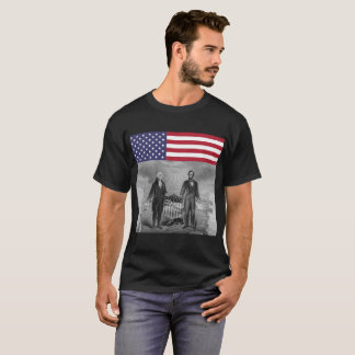Independence Day George Washington Abe Lincoln T-Shirt