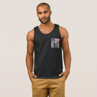 Independence Day George Washington Abraham Lincoln Singlet