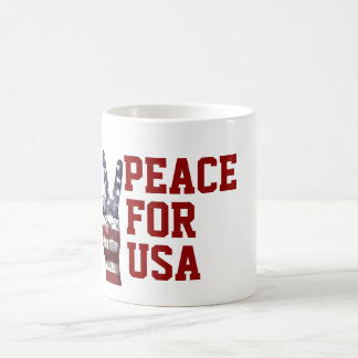 Independence Day July 4th Peace Mug