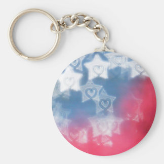 Independence Day Key Ring