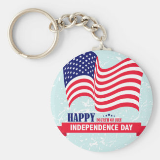Independence-Day Key Ring