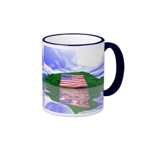 Independence Day Land Mug