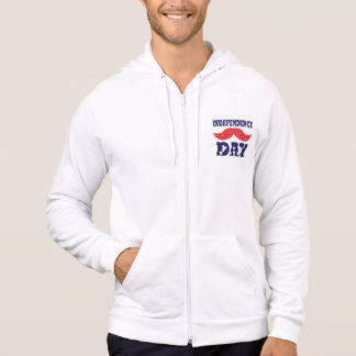 Independence Day Moustache Hoodie