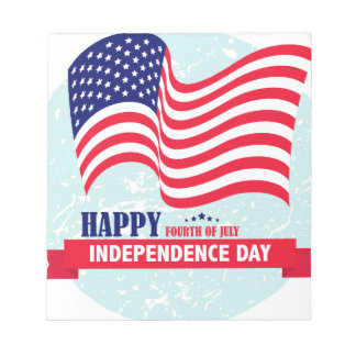 Independence-Day Notepad
