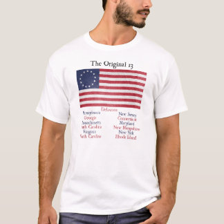 Independence Day Original 13 Colonies T-Shirt