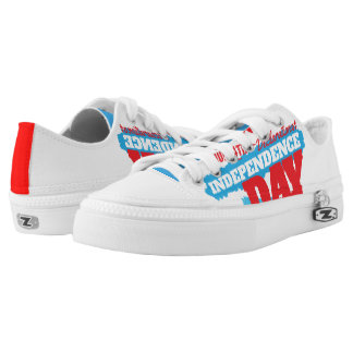 independence day shoes printed shoes