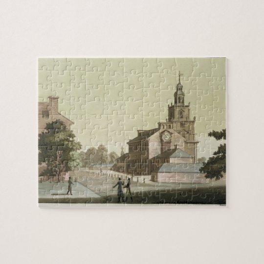 Independence Hall, Philadelphia, Pennsylvania, fro Jigsaw Puzzle