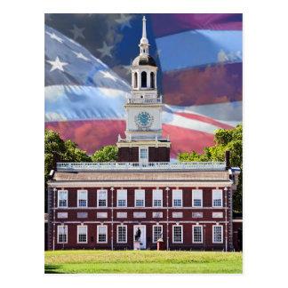 Independence Hall Postcard