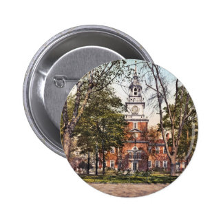 Independence Hall Vintage Philly Pensylvania Pinback Buttons