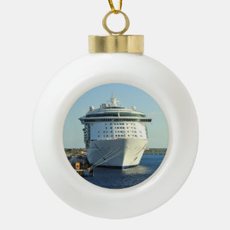 Independence in Cozumel Ceramic Ball Christmas Ornament