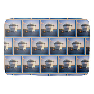 Independence in Cozumel Pattern Bath Mat