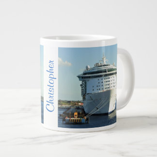Independence in Cozumel Personalized Large Coffee Mug