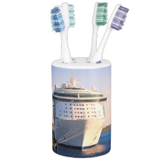 Independence in Cozumel Soap Dispenser And Toothbrush Holder