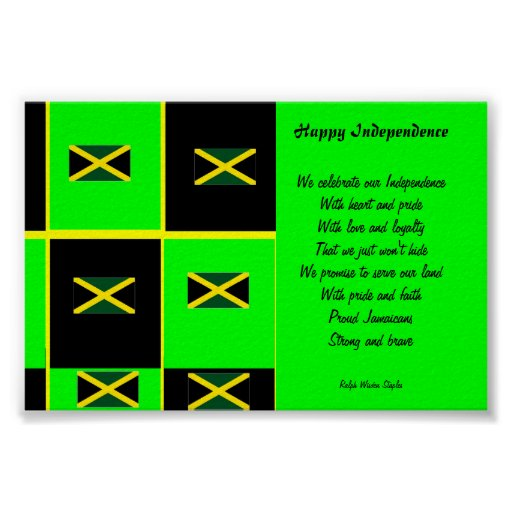 Independence  jamaica posters