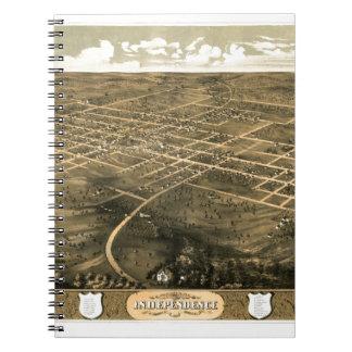 Independence Misssouri 1868 Notebook