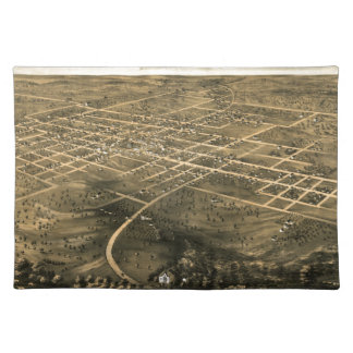 Independence Misssouri 1868 Placemat