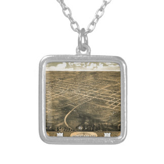 Independence Misssouri 1868 Silver Plated Necklace