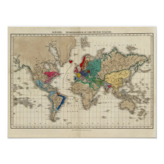 Independence of The United States 1783 AD Print