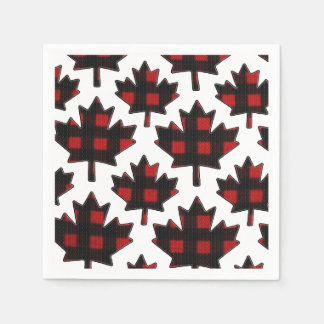 Independence Patch Canada Day Party Paper Napkins Disposable Serviette