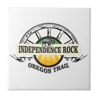 Independence rock seal ceramic tile