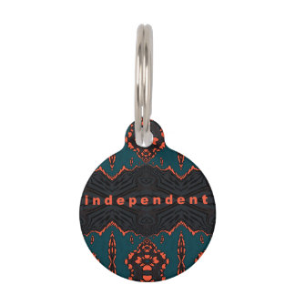 Independent and proud pet ID tag