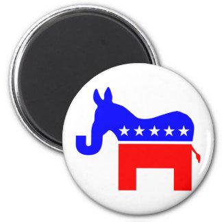 INDEPENDENT & BIPARTISAN - Donkey/Elephant Hybrid Magnet