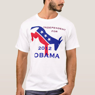 Independent for Obama t-shirt