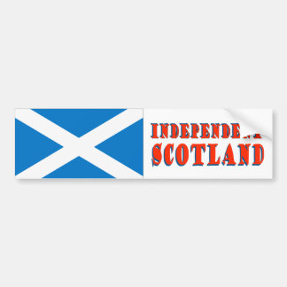 Independent Scotland Bumper Sticker