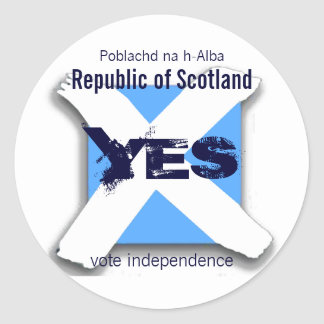 Independent Scotland Sticker