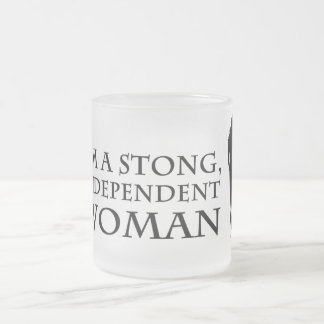 Independent woman mug 1