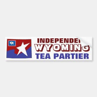Independent Wyoming Tea Partier Bumper Sticker
