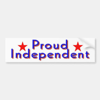 Independents Day Bumper Sticker