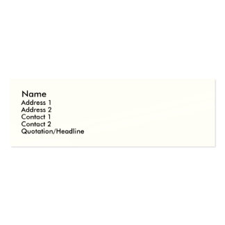 INDESTRUCTIBLE SKINNY PROFILE BUSINESS CARD