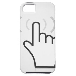 Index a hand iPhone 5 cover