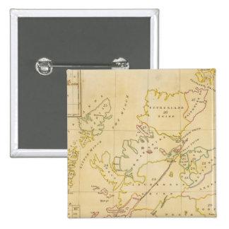 Index map 15 cm square badge