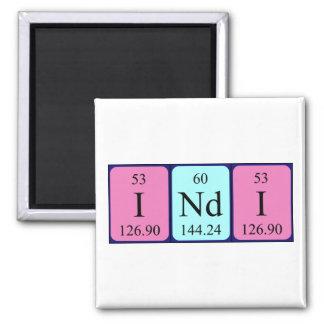 Indi periodic table name magnet
