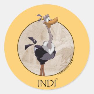 INDI sticker