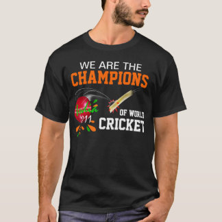 India 2011Champs of  ICC World Cup Cricket T Shirt