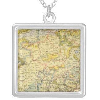 India 2 silver plated necklace