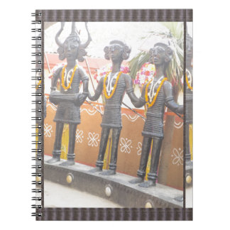 india arts rural crafts statues festival newdelhi note book
