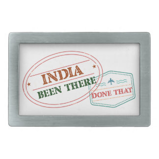 India Been There Done That Belt Buckle