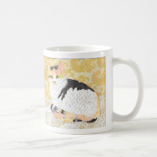 India Cat Collage mug